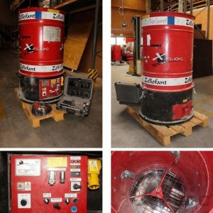 Używana maszyna do wdmuchiwania Zellofant M95 400V 4,2 kW