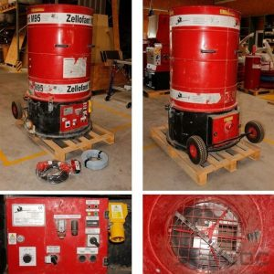 Używana maszyna do wdmuchiwania Zellofant M95 400V 4,7 kW