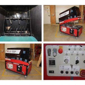 Używana, wydajna maszyna do wdmuchiwania celulozy X-FLOC EM 500-400V 9,5kW