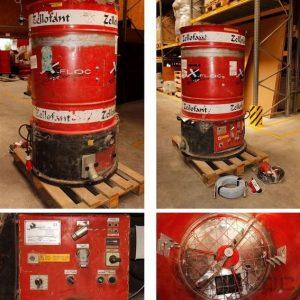 Wydajna maszyna używana do wdmuchiwania Zellofant M95 400 V 4,7 kW