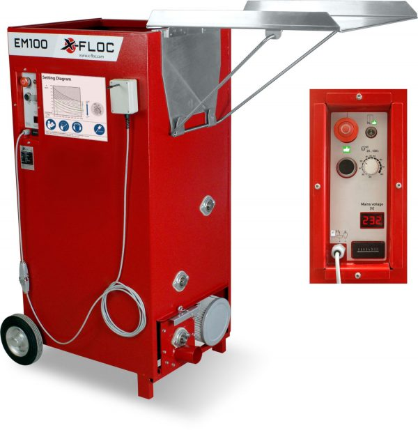 EM100 najtańsza maszyna do wdmuchiwania dociepleń