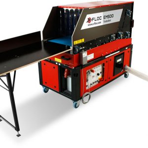 EM500 wydajna maszyna do wdmuchiwania z automatycznym podajnikiem materiału