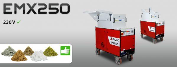 EMX250 maszyna do wdmuchiwania i natryskiwania izolacji