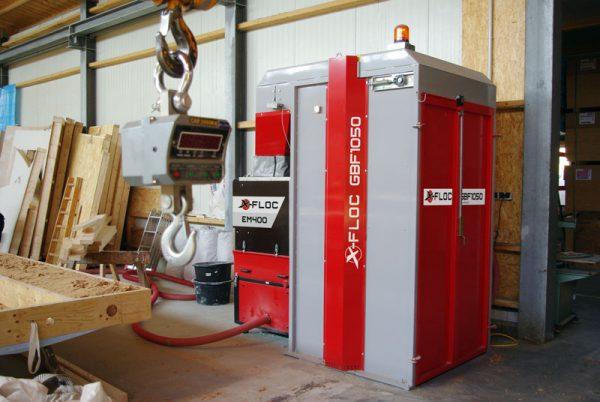 GBF 1050 X-FLOC komora technologiczna