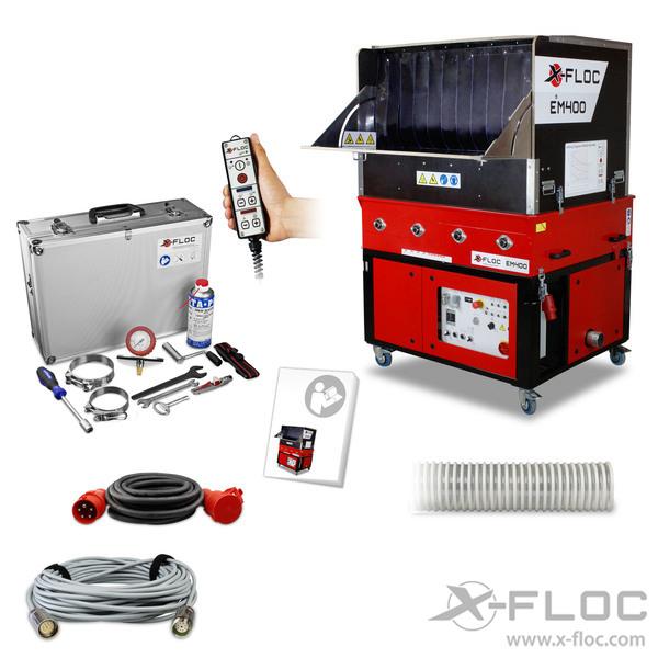 Maszyna do Wdmuchiwania EM400 X-FLOC