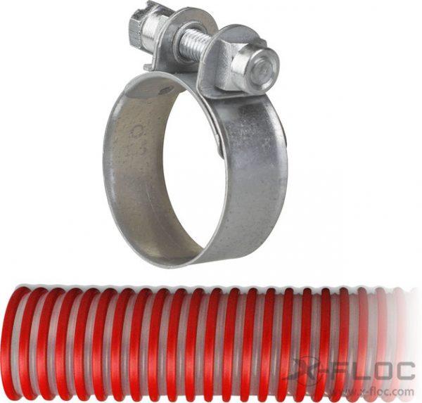 """Obejma śrubowa NW38 (1 ½"""") na węże instalacyjne"""