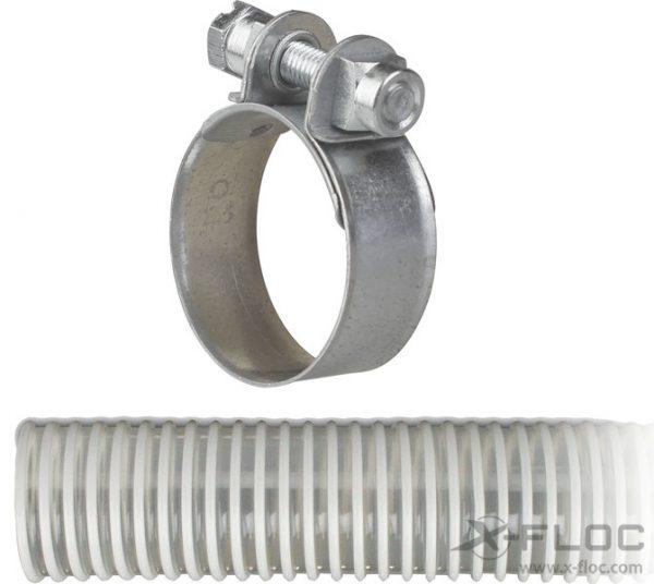 """Obejma śrubowa NW38 (1 ½"""") na węże przesyłowe"""